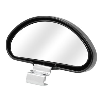 Black Plastic Housing Car Auxiliary Rearview Blind Spot Mirror