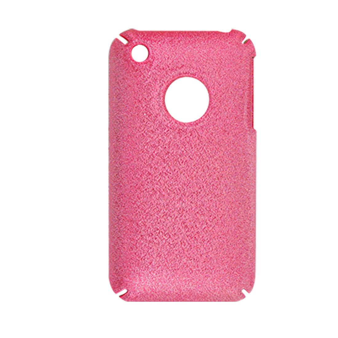 Fit iPhone 3GS Glittery Hard Plastic Back Case Sheild