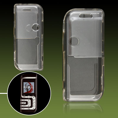 Clear Plastic Crystal Protector Case Shell for Nokia 7260