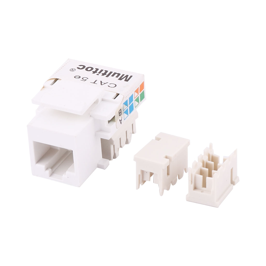 Cat5e RJ45 In Module Network Jack Adapter Connector