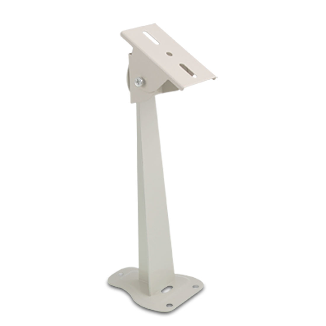 Metal Wall Mount Stand Bracket for CCTV Security Camera White