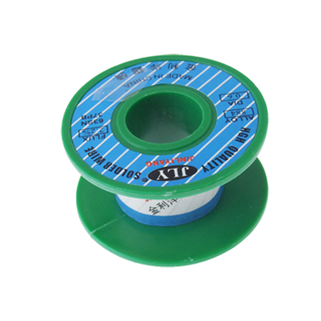 0.6mm Diameter 63/37 Rosin Core Flux 2.2% Tin Lead Roll Solid Solder Wire Reel