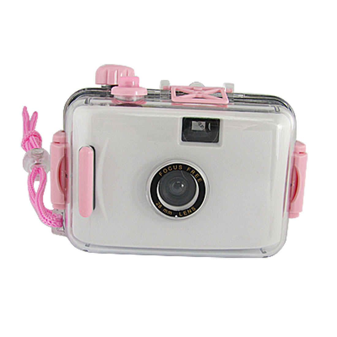 White Emulational Camera Toy + Waterproof Casing