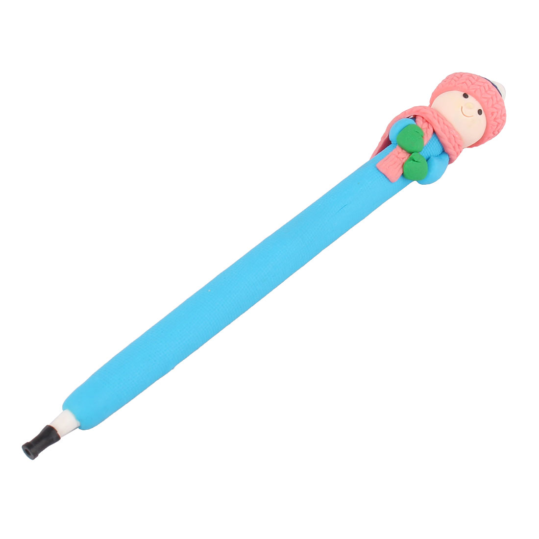 Cartoon Kid Ornament Children Writing Black Ink Ballpoint Pen
