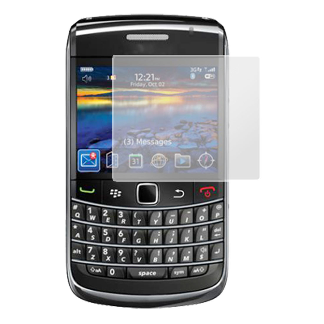 Cell Phone Screen Clear Protector for Blackberry 9700