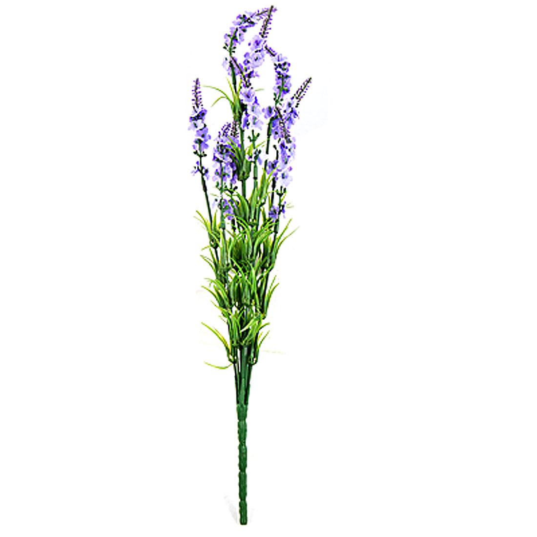 Artificial Lavender Flower Bouquet Party Room Decor Light Purple