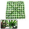 Artificial Plastic Lawn Grass Turf Decor for Room Aquarium Fish Tank Green