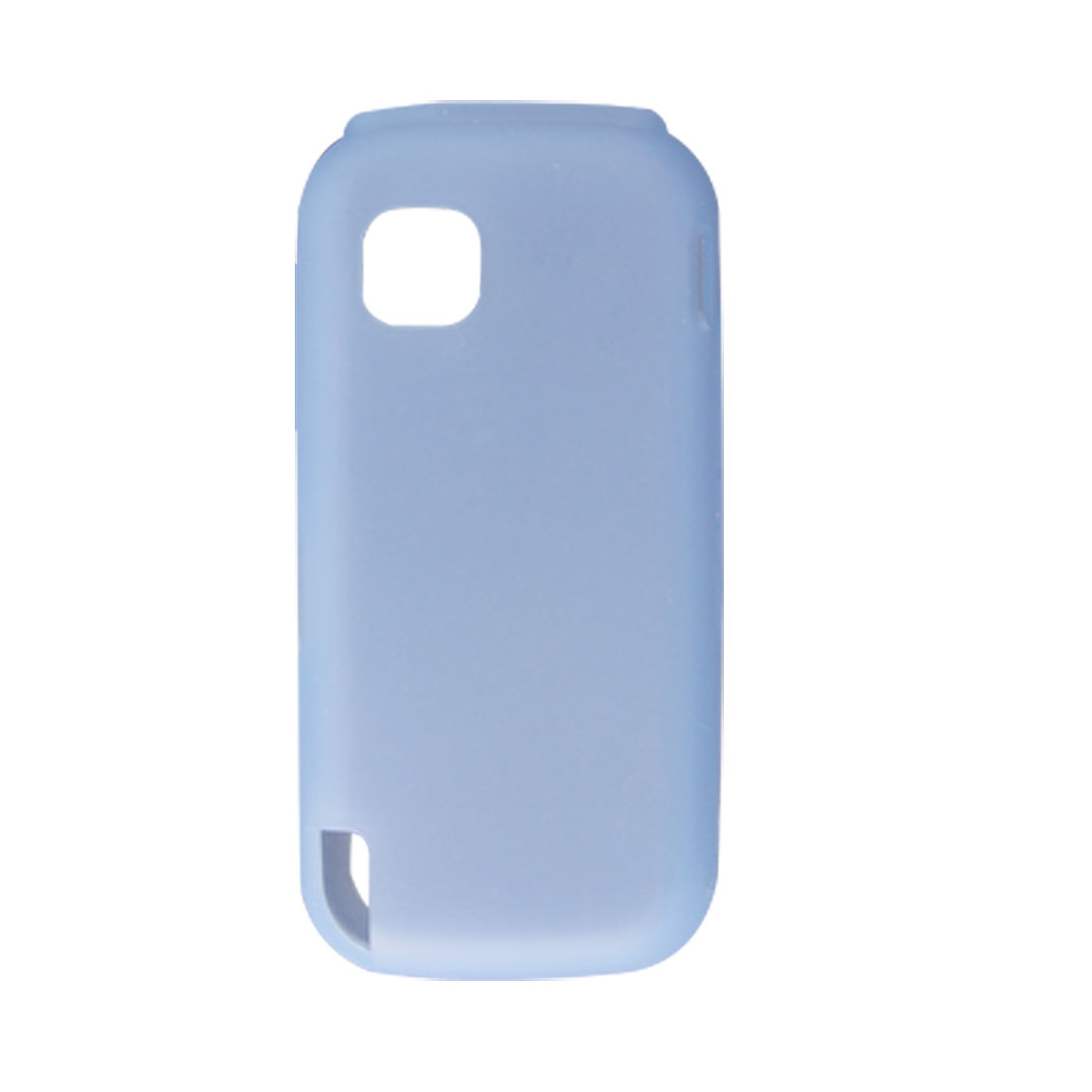 Baby Blue Soft Silicone Skin Case Cover for Nokia 5230