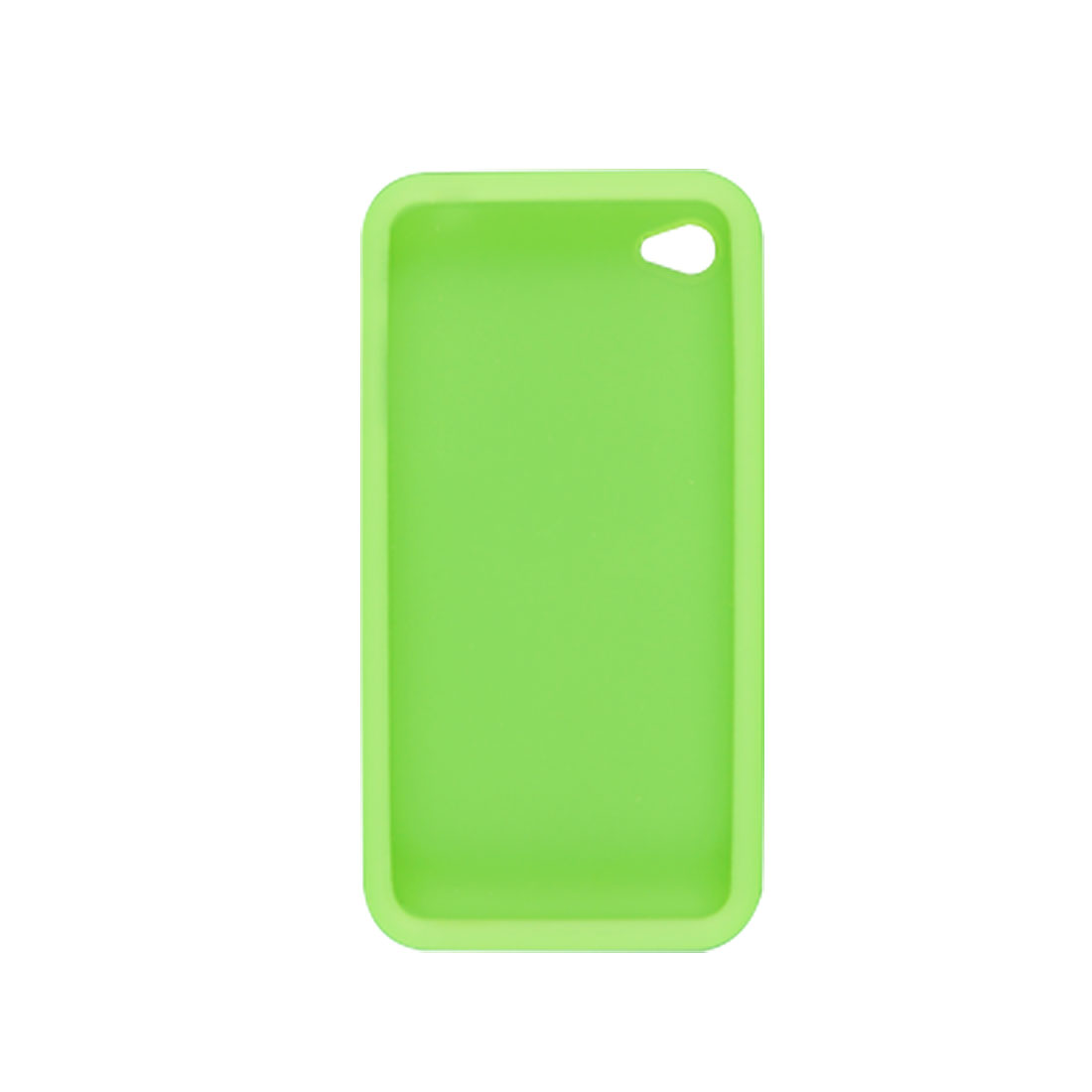 Light Green Silicone Protector + Screen Guard for Apple iPhone 4