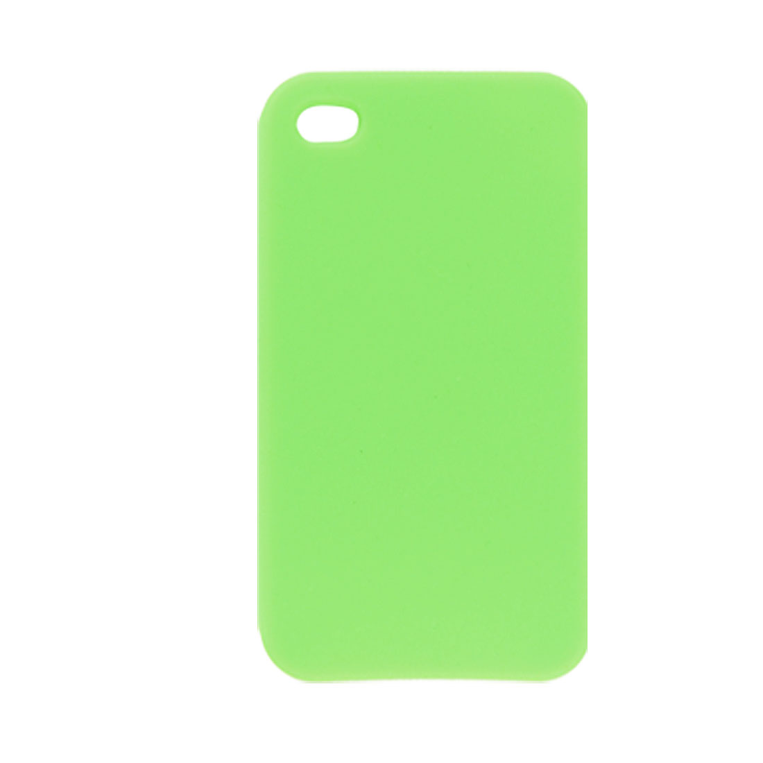 Grass Green Silicone Skin Case Cover for Apple iPhone 4 4G
