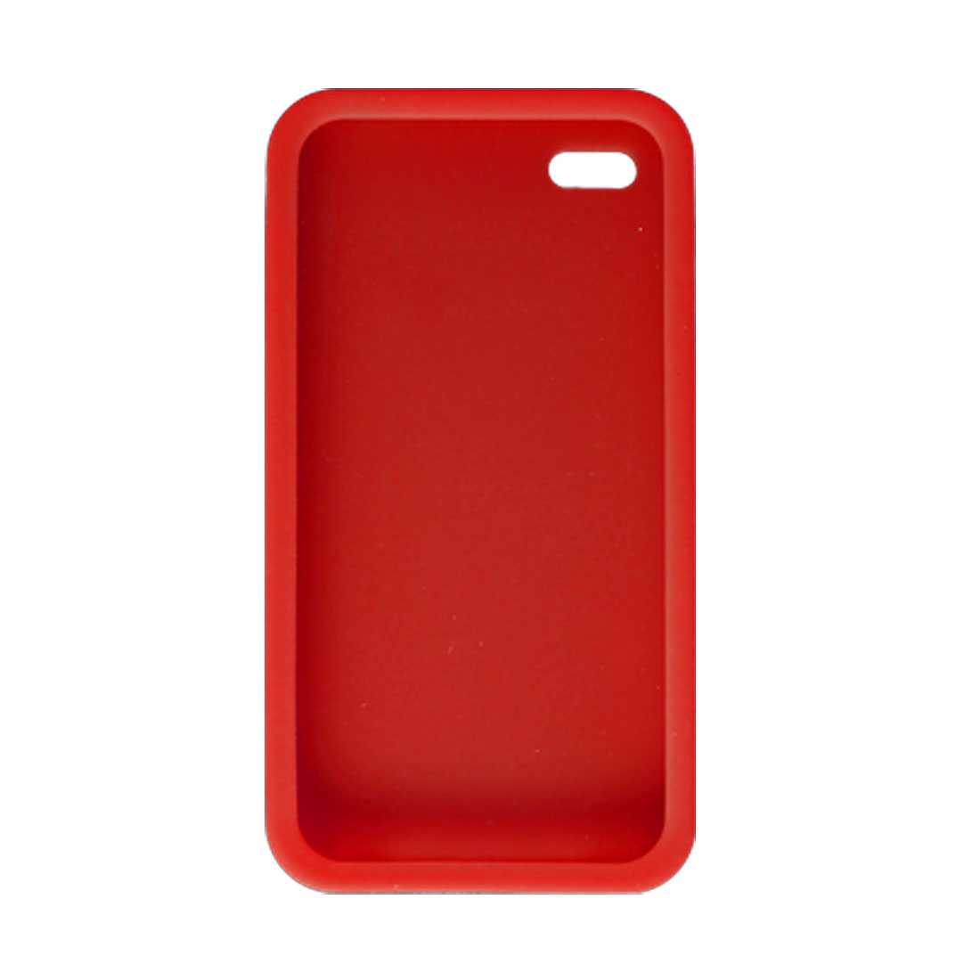 Red Silicone Skin Cover Case Shell for Apple iPhone 4 4G
