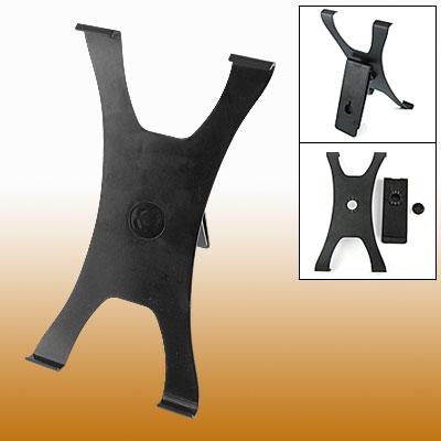 Black Plastic Mount Bracket Support Stand Holder