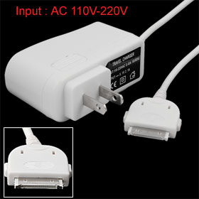 AC Adapter Wall Charger for iPod Nano Touch iPhone 4 3G 3GS iPad