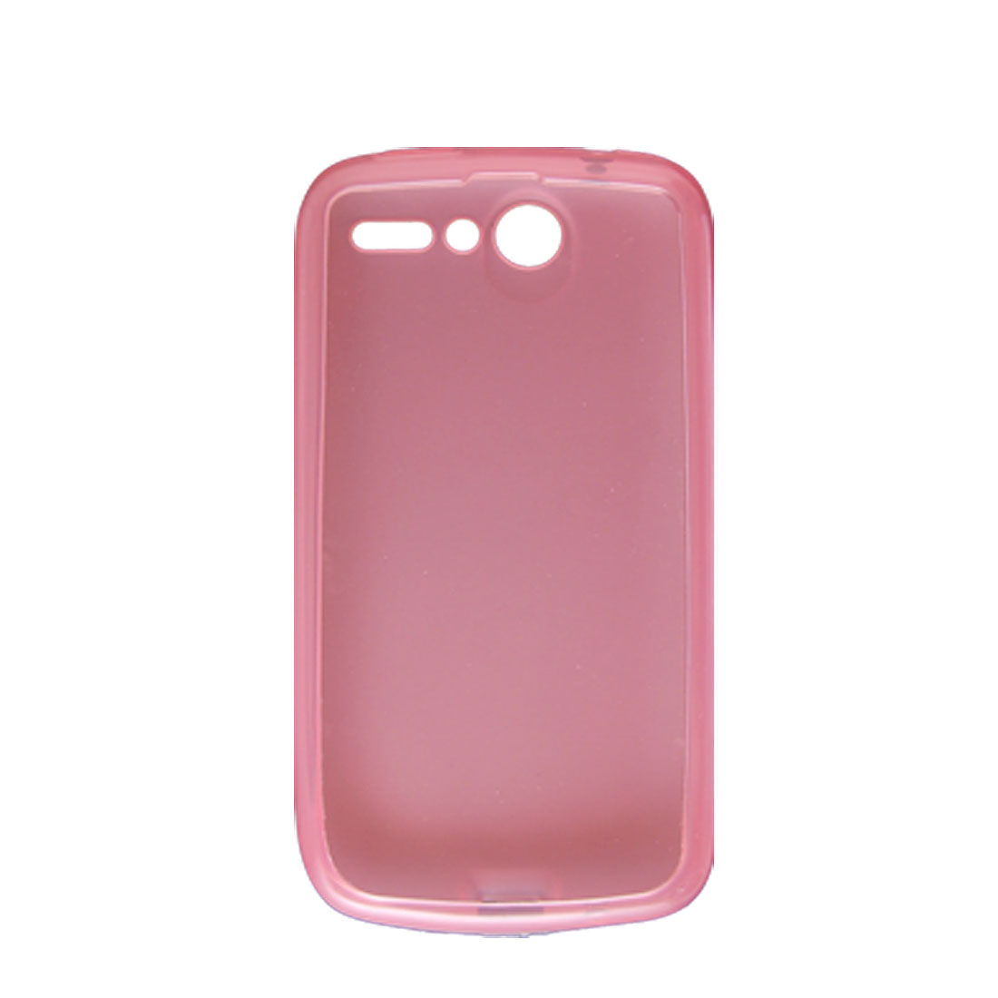 Clear Pink Soft Plastic Protector Cover Case for HTC Desire G7