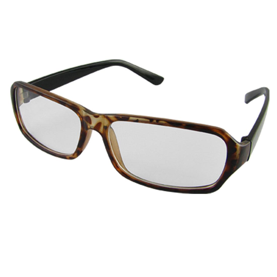 Tortoise Frame Eyeglasses Unisex Clear Lens Glasses Amber Black
