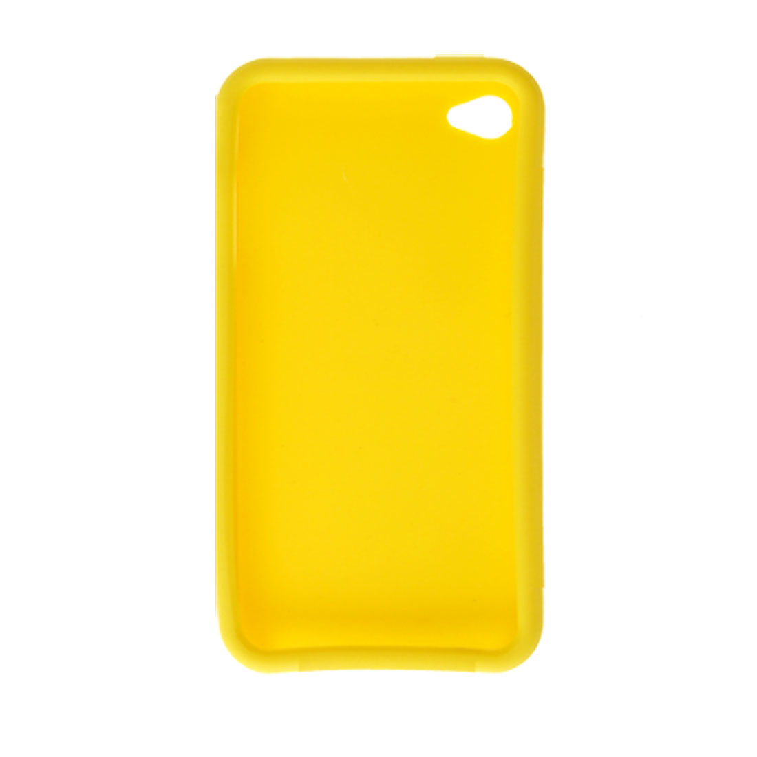 Phone Silicone Skin Protective Cover for Apple iPhone 4 Yellow