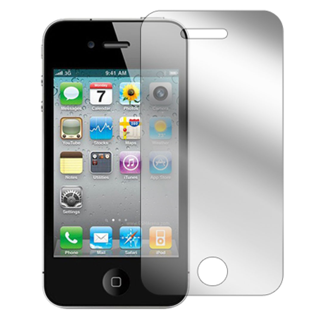 LCD Screen Guard Protector Clear for Apple iPhone 4