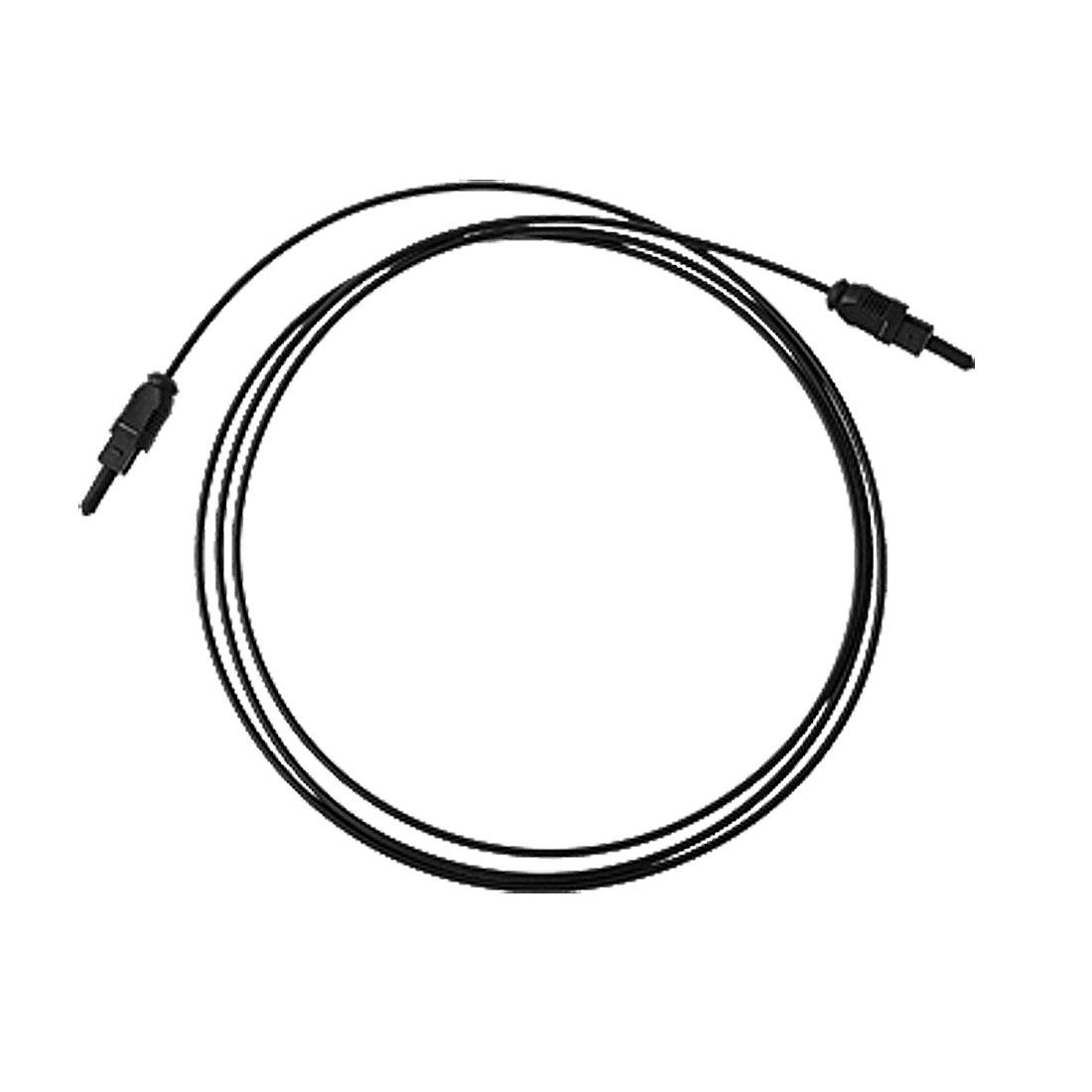 Optical Fiber Digital DVD CD Audio DTS Cable 5FT Black