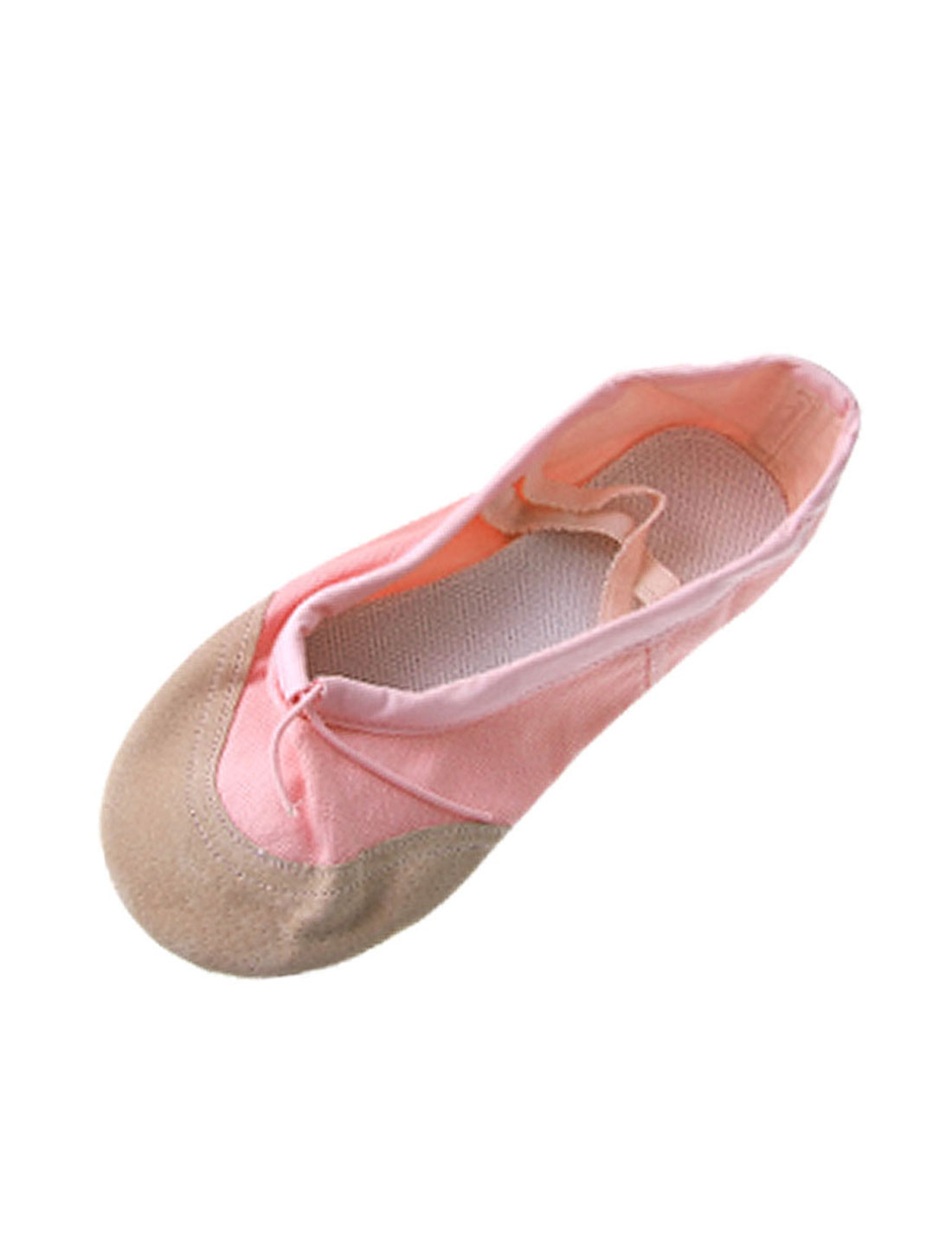 Gymnastics Dancing Ballet Girls Pink Canvas Flat Shoes US Size 10