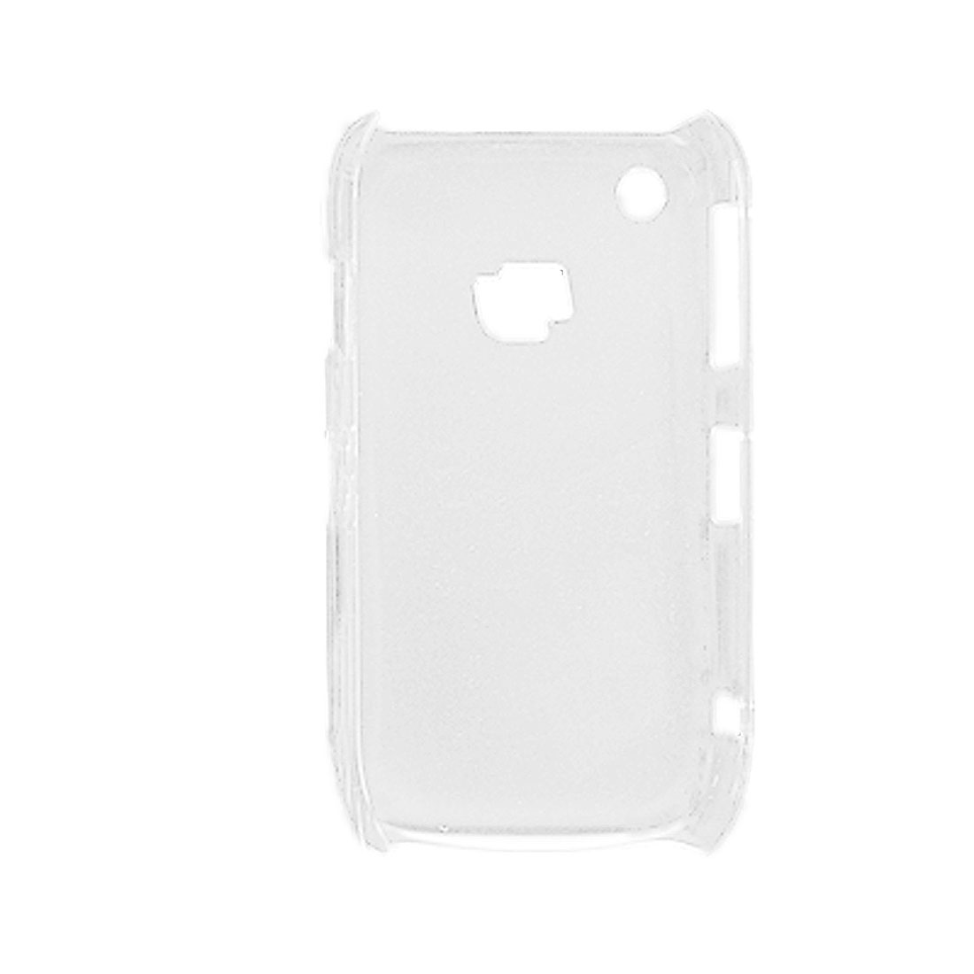 Clear Hard Plastic Back Shell Skin for Blackberry 8520