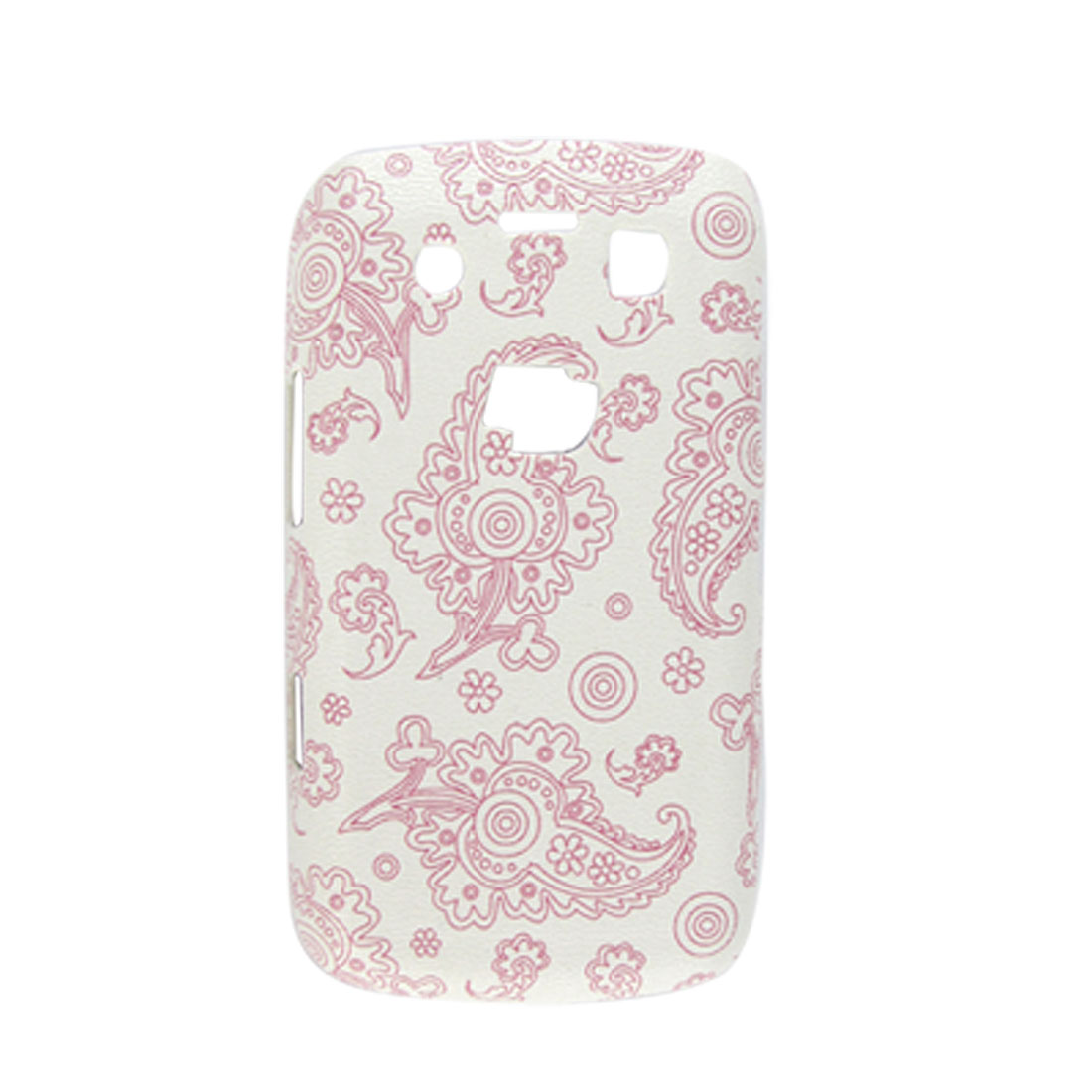 Peacock Feather Hard Plastic Back Shell for Blackberry 9700 Pink