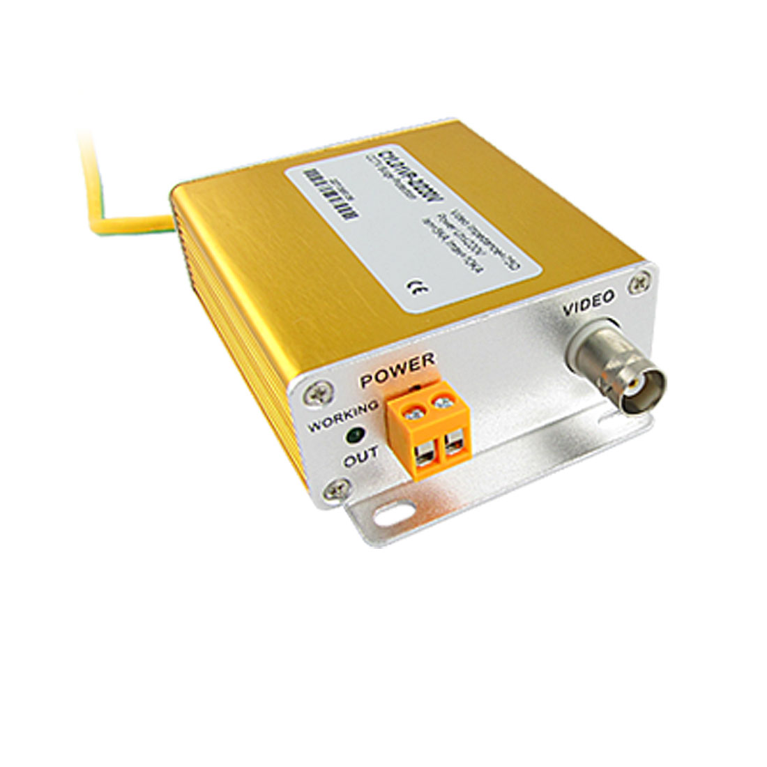 220V 2 In 1 Power Video Signal Security Surge Lightning Arrester