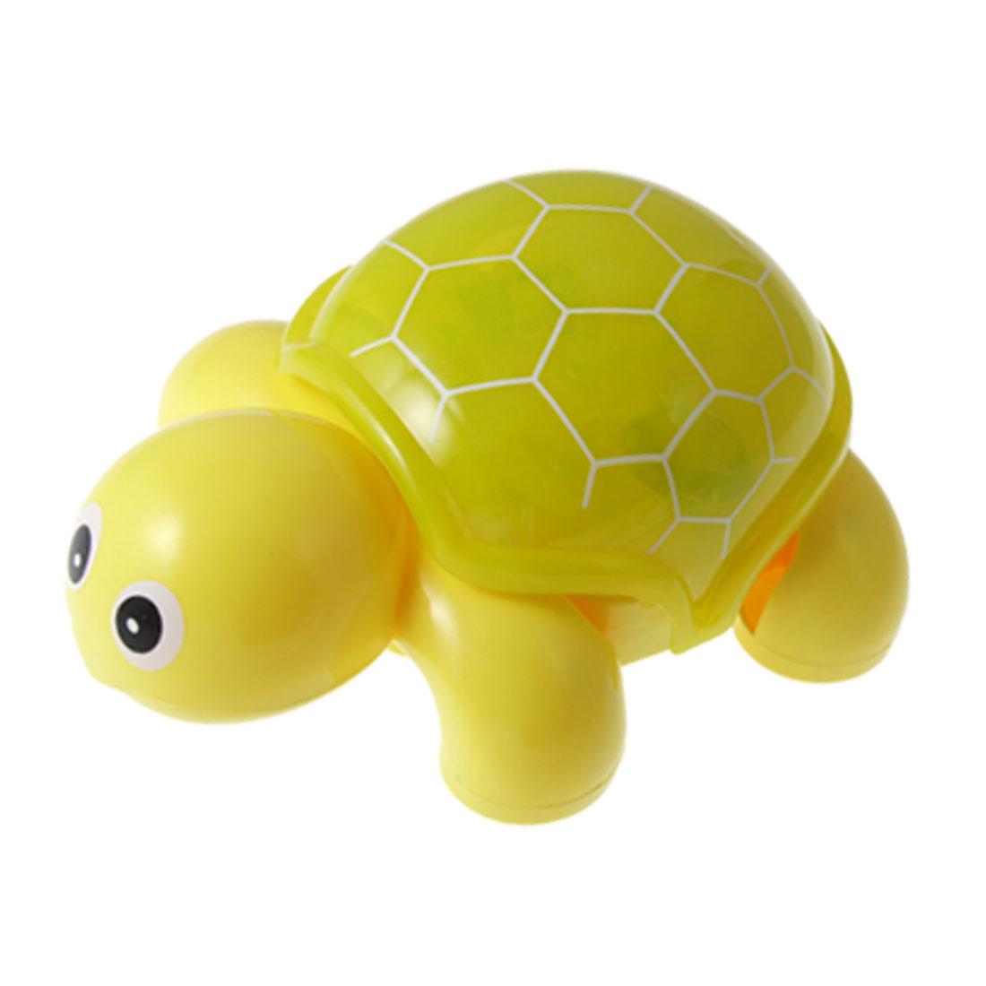 Kids Music Light Tortoise Plastic Animal Toy Gift Yellow