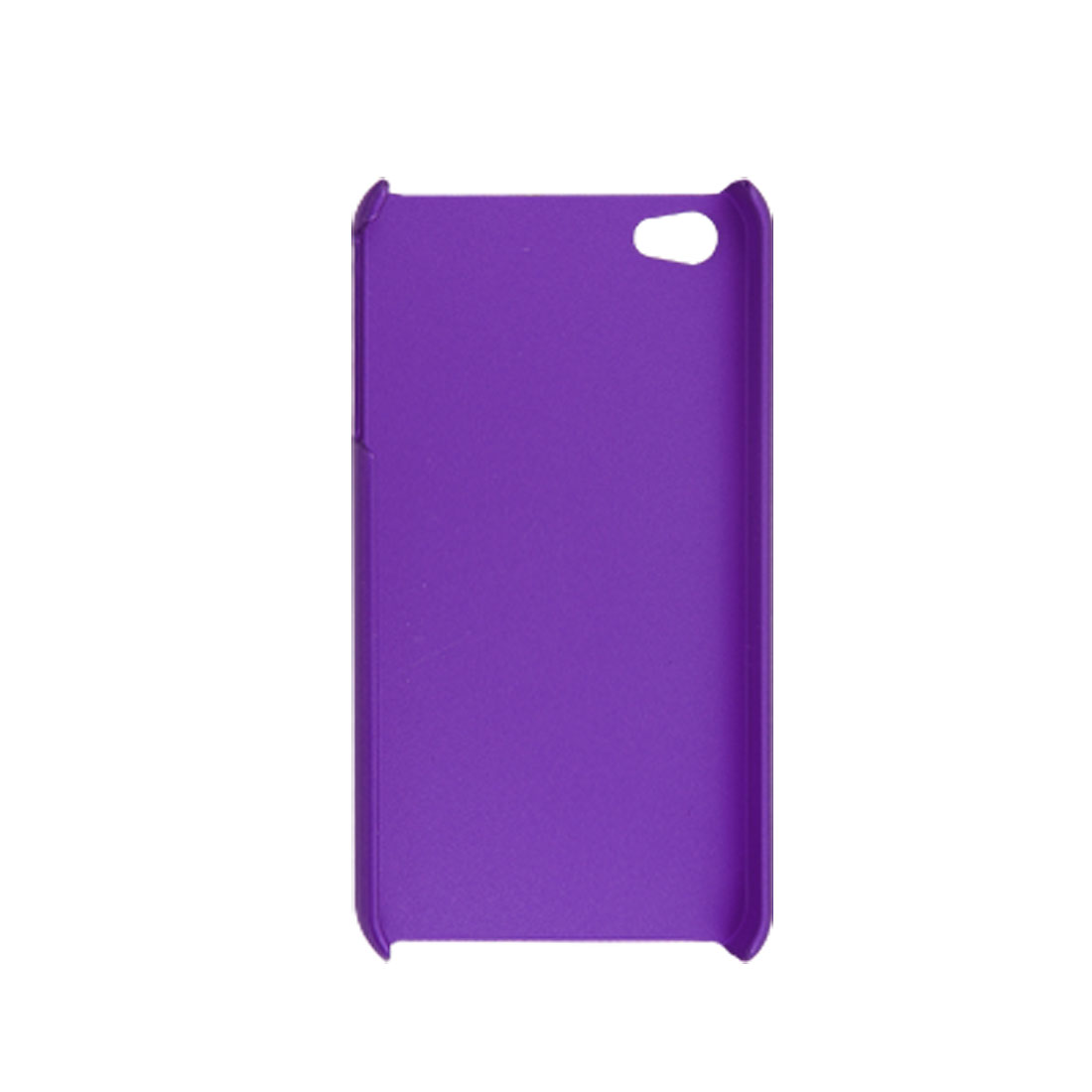 Purple Hard Plastic Case + Screen Guard for iPhone 4 4G