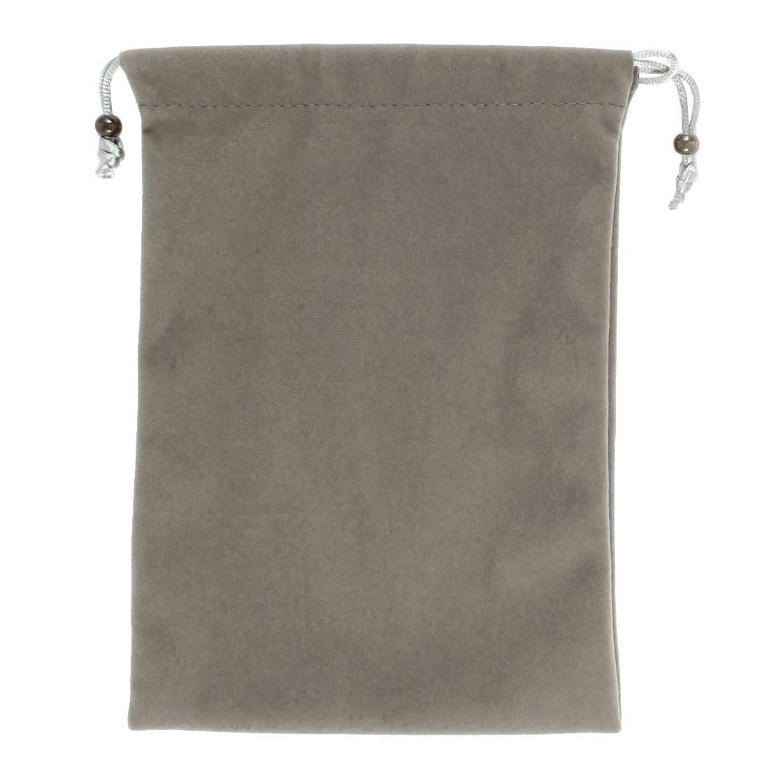 """Drawstring Velvet Sleeve Bag Case Gray for 7"""" Android Tablet PC MID Kindle Fire"""