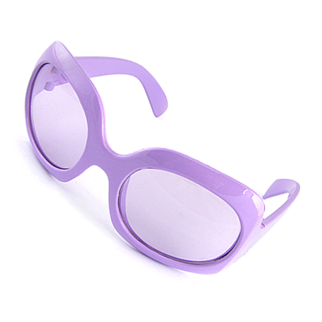 Purple Frame Plastic Small Kids Sunglasses Eyewear for Girls