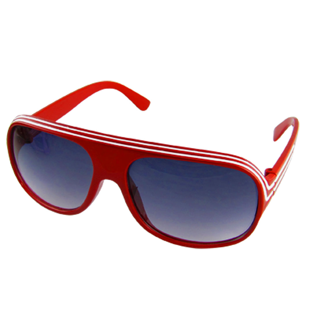 Children Sports UV Protection Sunglasses Red Frame Black Lens