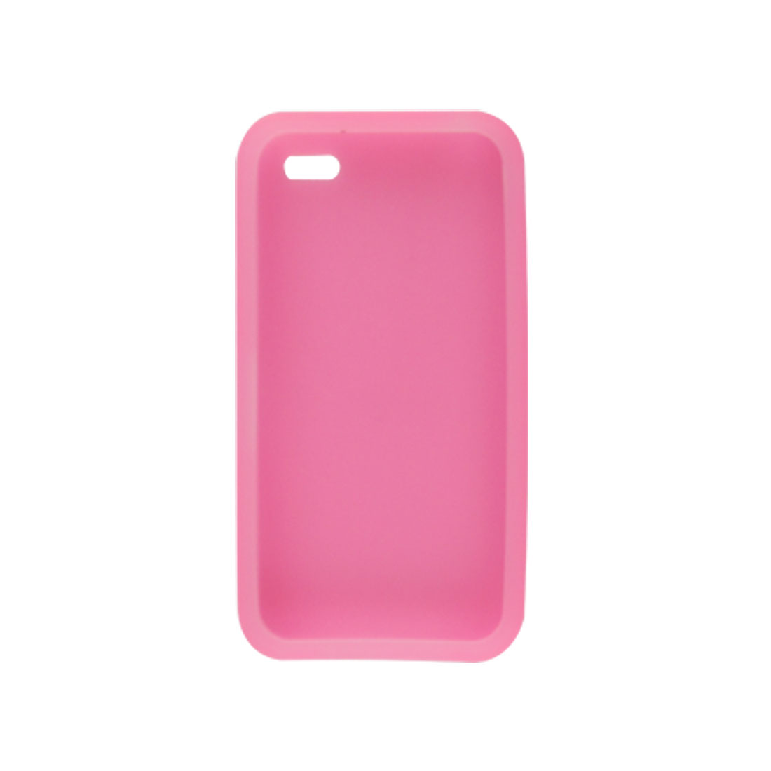 Pink Silicone Skin Soft Case Shell for Apple iPhone 4 4G