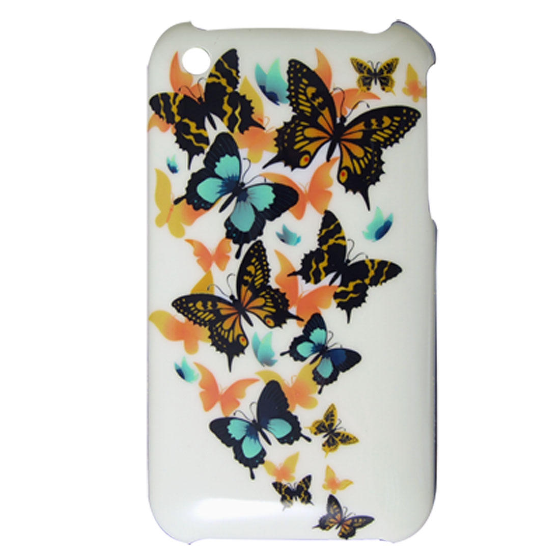 Plastic Butterfly Case + Screen Guard for iPhone 3G