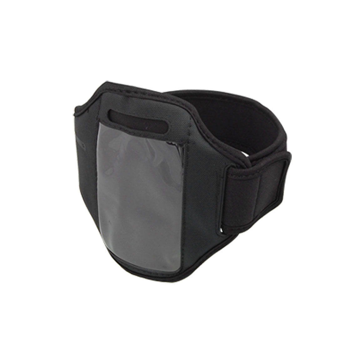 Black Adjustable Neoprene Armband Holder for Cell Phone