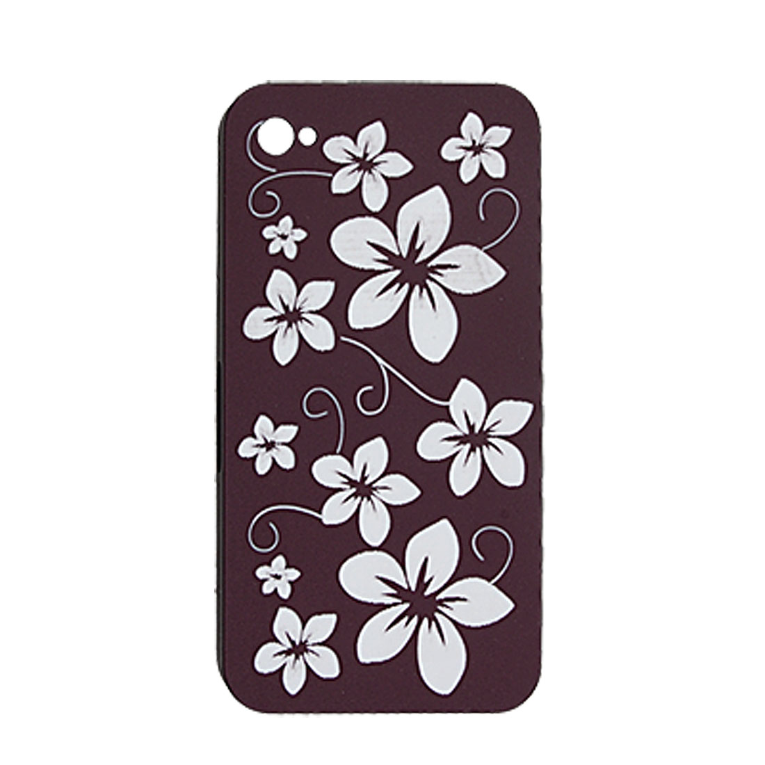 Peach Blossom Design Hard Plastic Cover for iPhone 4