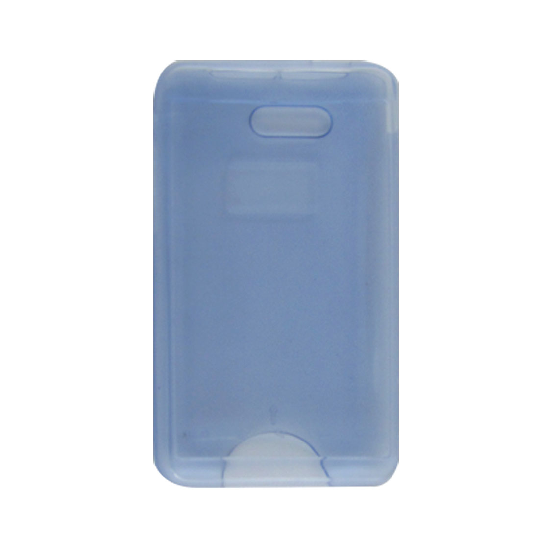 Clear Blue Soft Plastic Shield Guard Cover for HTC HD Mini