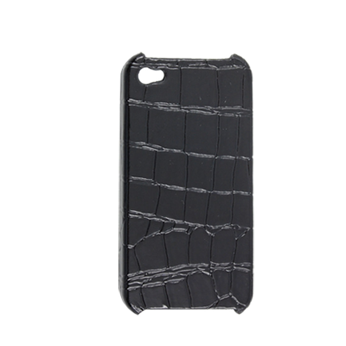 Black Nonslip Hard Plastic Back Snake Print Case Guard