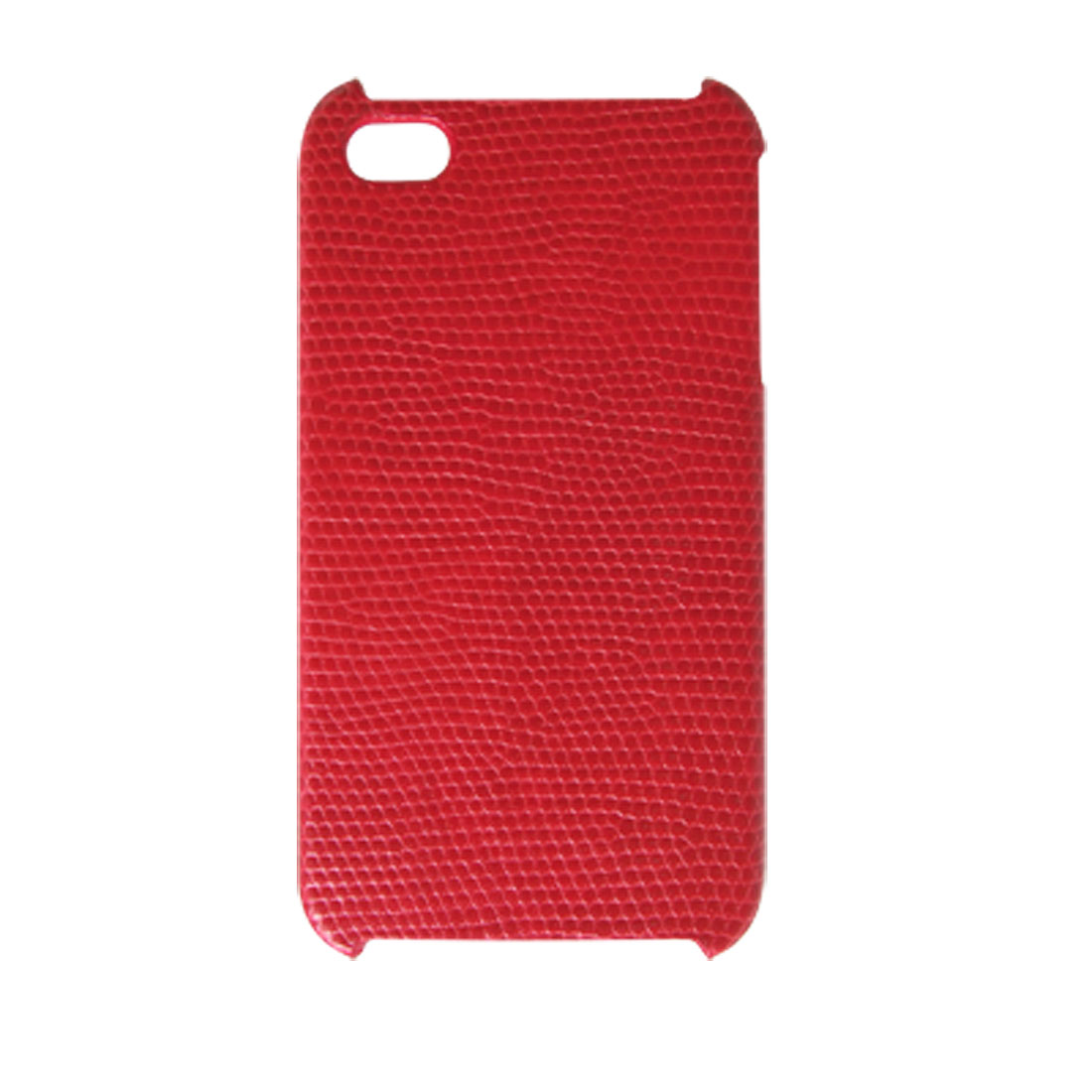Red Nonslip Case Hard Plastic Back Cover for iPhone 4 4G