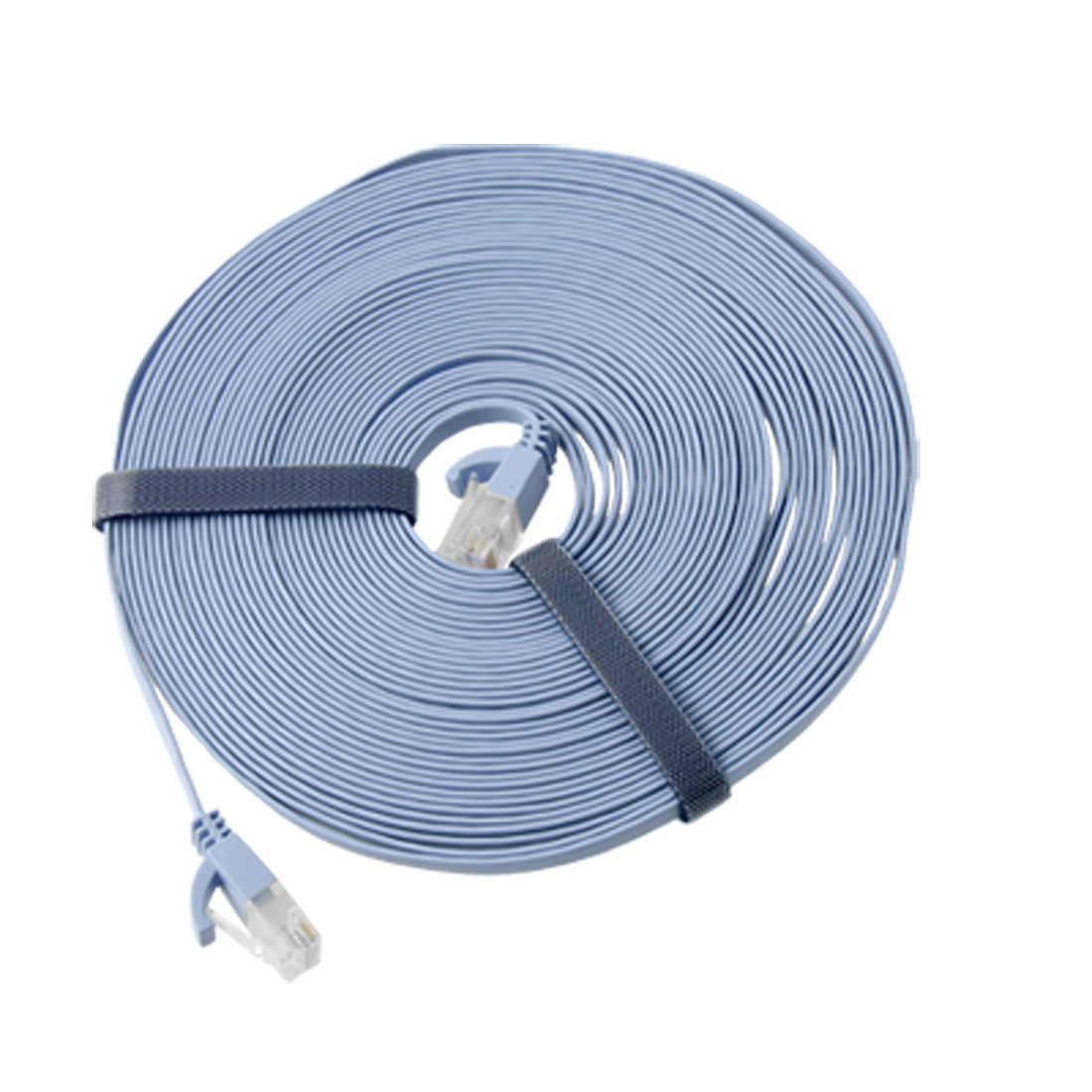 33ft RJ45 UTP CAT6a Cat.6 Flat Data Ethernet Patch Network Lan Cable 10M Blue