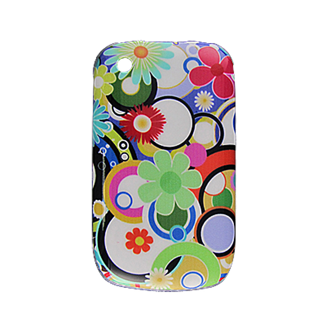 Colors Hard Plastic Back Case + Screen Protector for Blackberry Curve 8520 8530