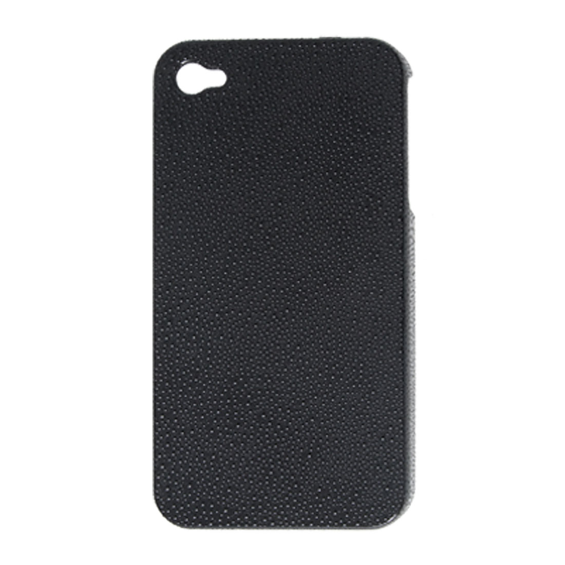 Black Hard Back Case Plastic Nonslip Cover for iPhone 4 4G