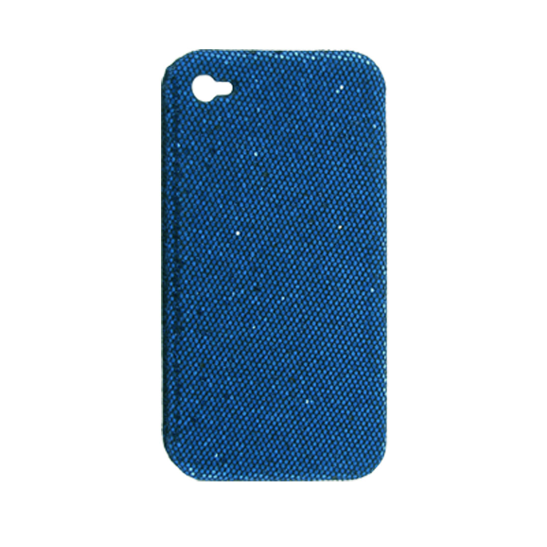 Blue Glittery Protective Hard Guard Case for iPhone 4 4G