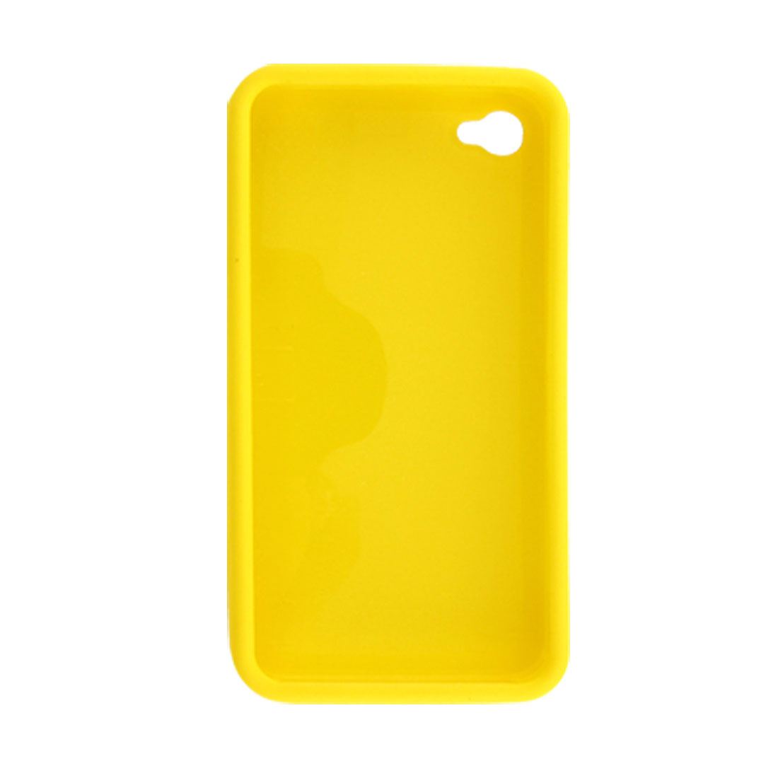 Yellow Hard Plastic Back Case Shield for iPhone 4 4G