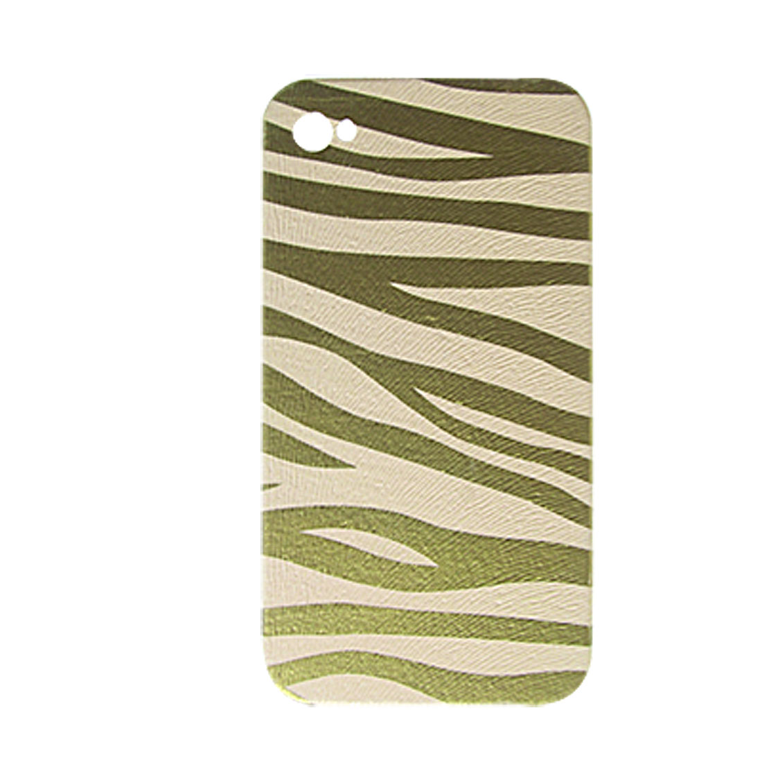 Zebra Print Case Hard Plastic Back Cover for iPhone 4 4G