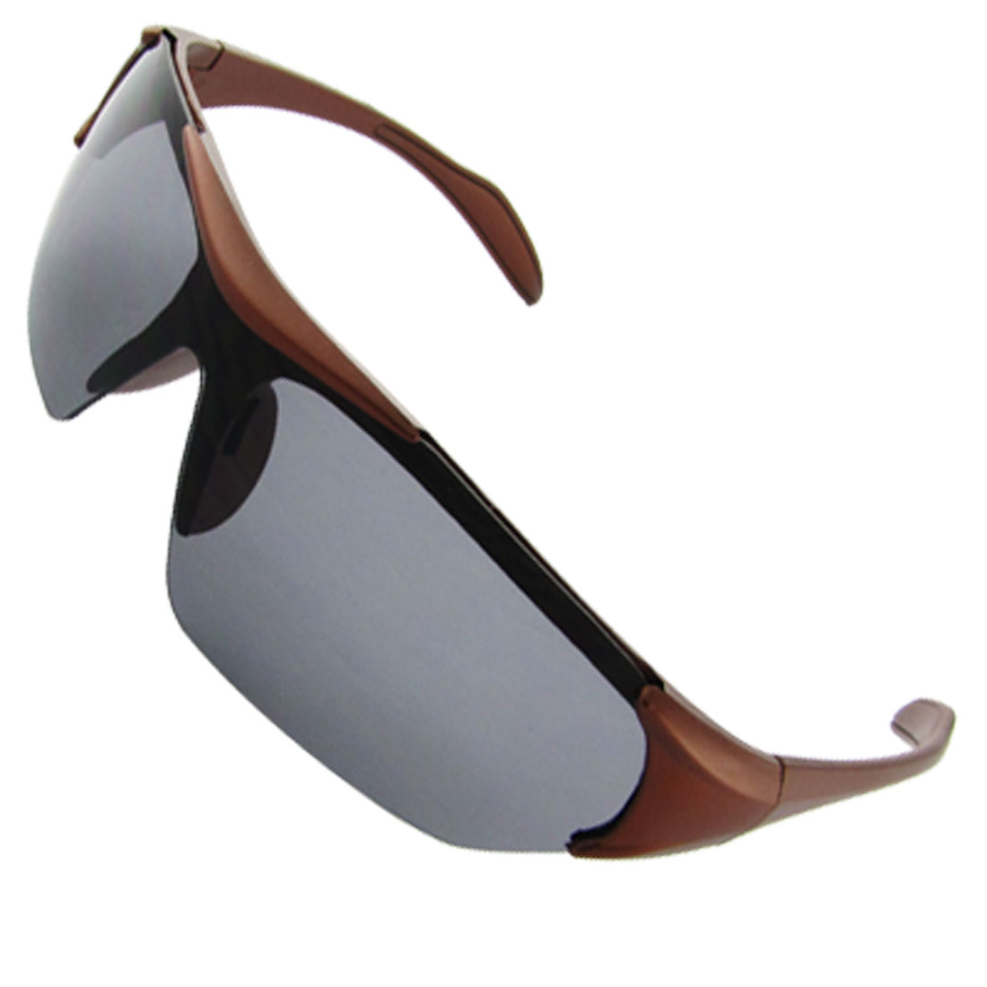 Black Brown Oval UV Protection Sunglasses for Children