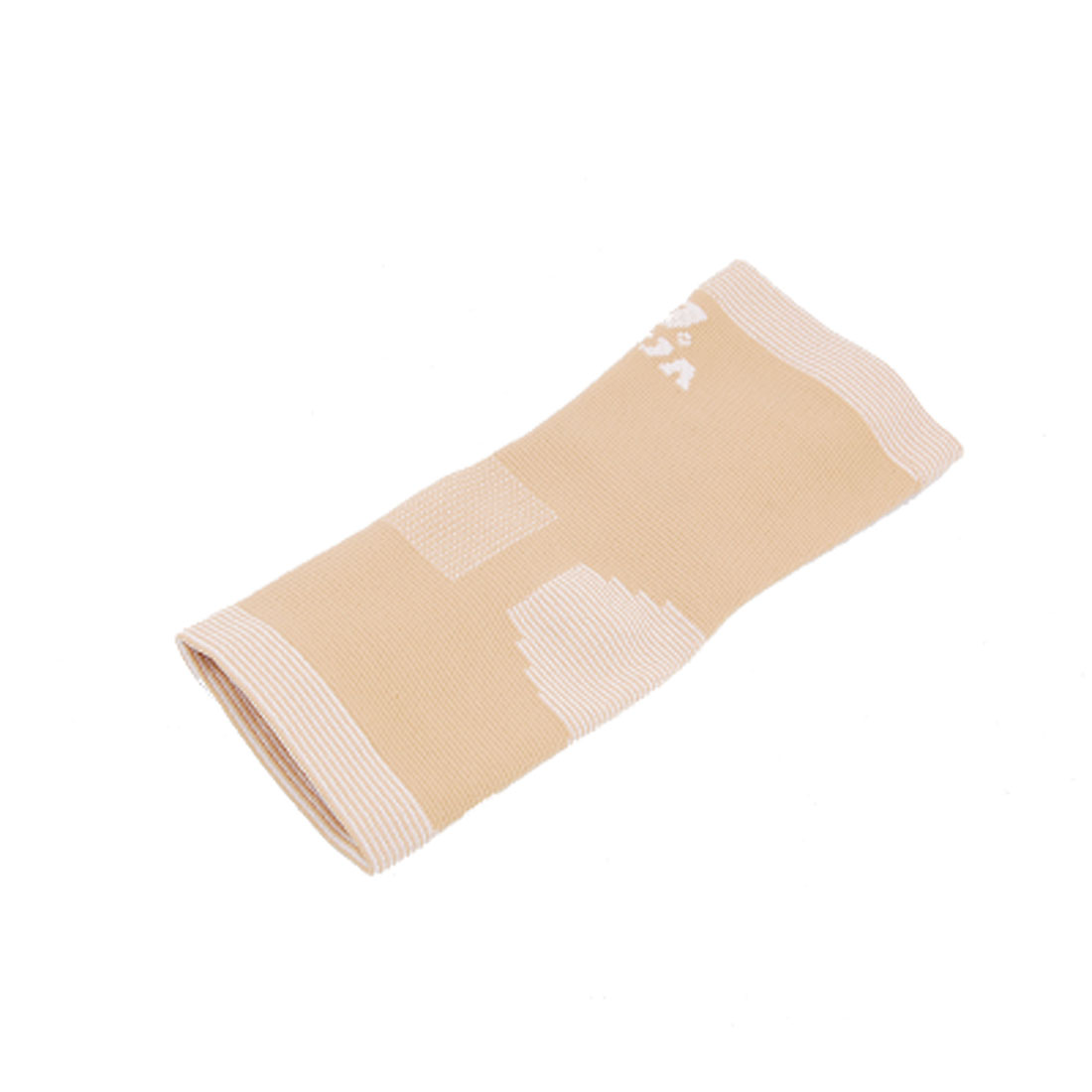 Beige Elastic Sporting Protective Gear Ankle Support Size S
