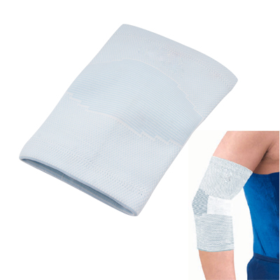 Light Baby Blue Stretch Elbow Brace Sports Support Protector