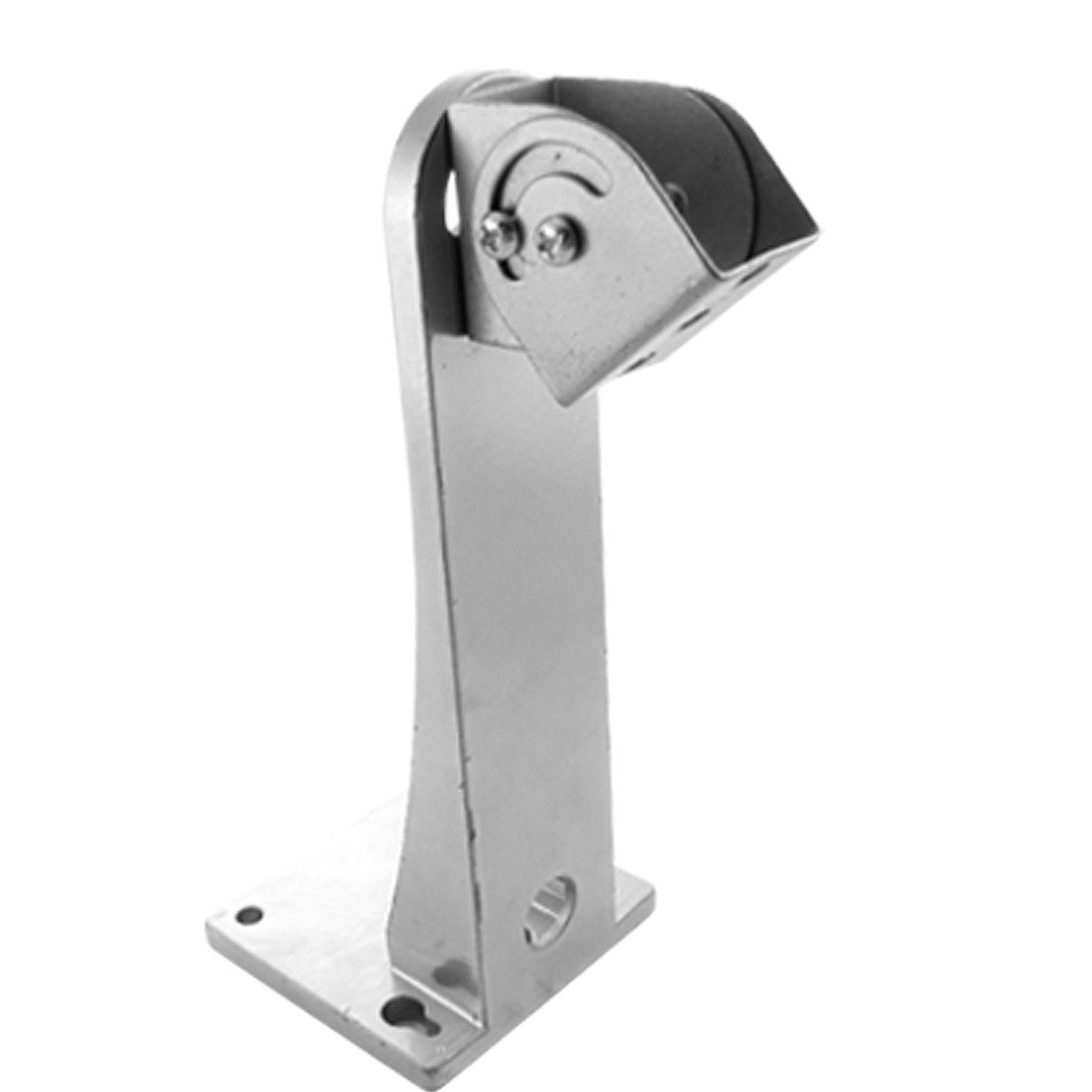 Metal Silver Tone Wall Mounting CCTV Security Camera Bracket Stand 6 1/2""