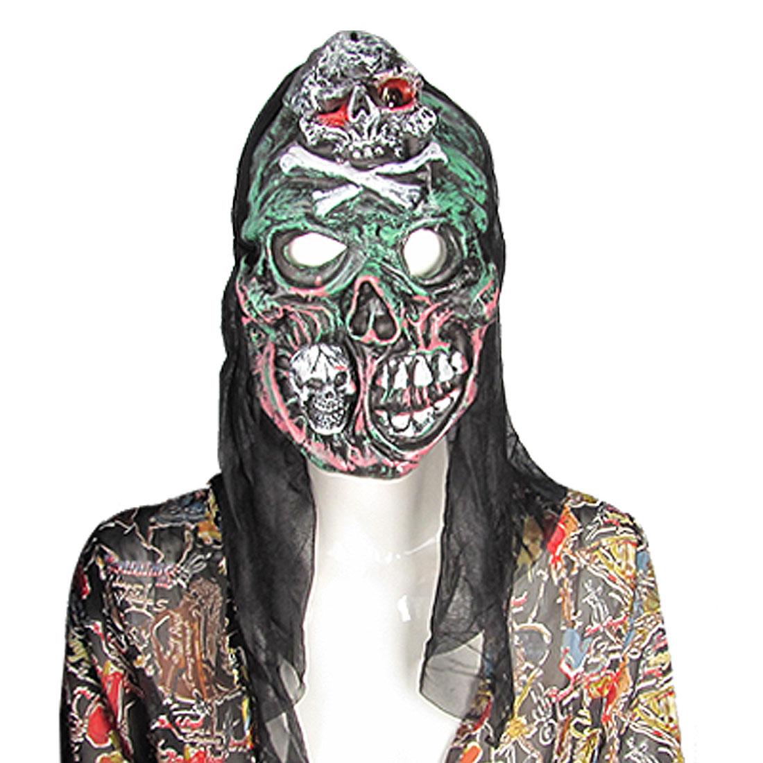 Halloween Skull Forehead Big Teeth Horrible Sound Mask