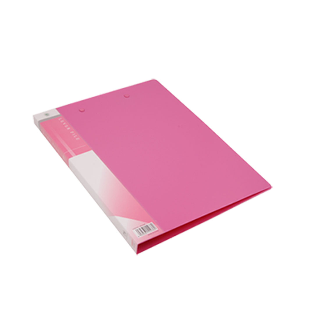 Size A4 Pink Plastic Double Lever Clips Document File Folder